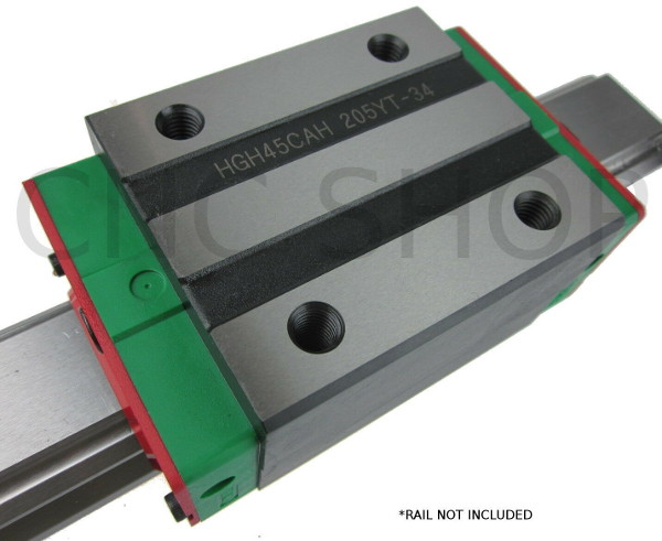 HIWIN HGH45 LINEAR MOTION CARRIAGE RAIL GUIDE FOR CNC ROUTER
